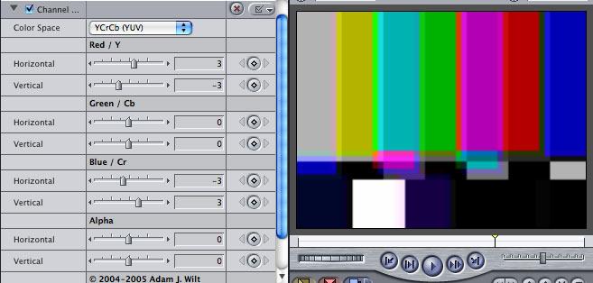 FXScript filters for Final Cut Pro